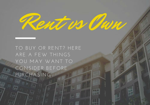 Renting Versus Buying a Home in GTA, Ontario